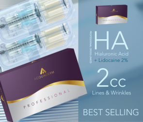 ACQUADERM® Fine Wrinkles compare to RESTYLANE / Juvederm XC